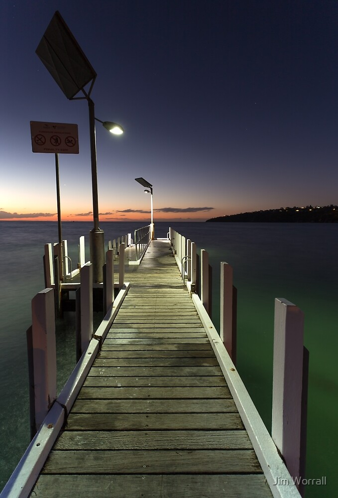 After the Sunset - Safety Beach jetty by Jim Worrall