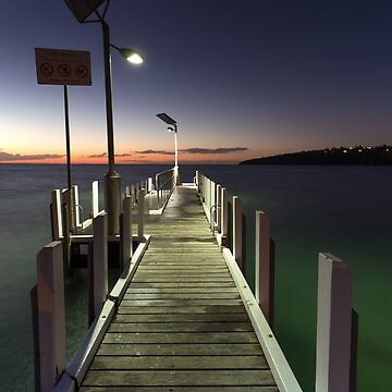 After the Sunset - Safety Beach jetty by PixelMuser