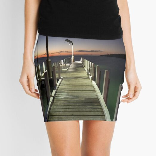 After the Sunset - Safety Beach jetty Mini Skirt