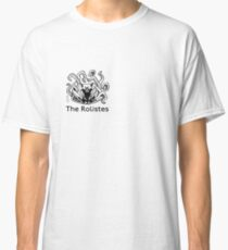 The Rolistes Podcast - Cthulhu Cat (Front Pocket Monochrome) Classic T-Shirt