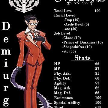 Overlord - Demiurge by SteveG2007