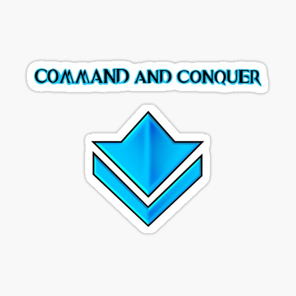Guild Wars 2: Command and Conquer Sticker