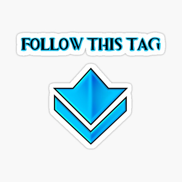 Guild Wars 2: Follow This Tag Sticker