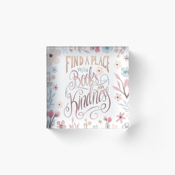 FIND A PLACE Acrylic Block