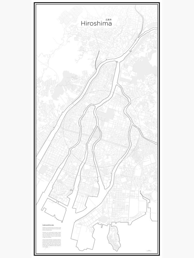 Illustrative Karte von Hiroshima (Guide) von Lucsy3012
