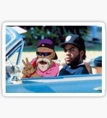 Master Roshi x Ice Cube Sticker