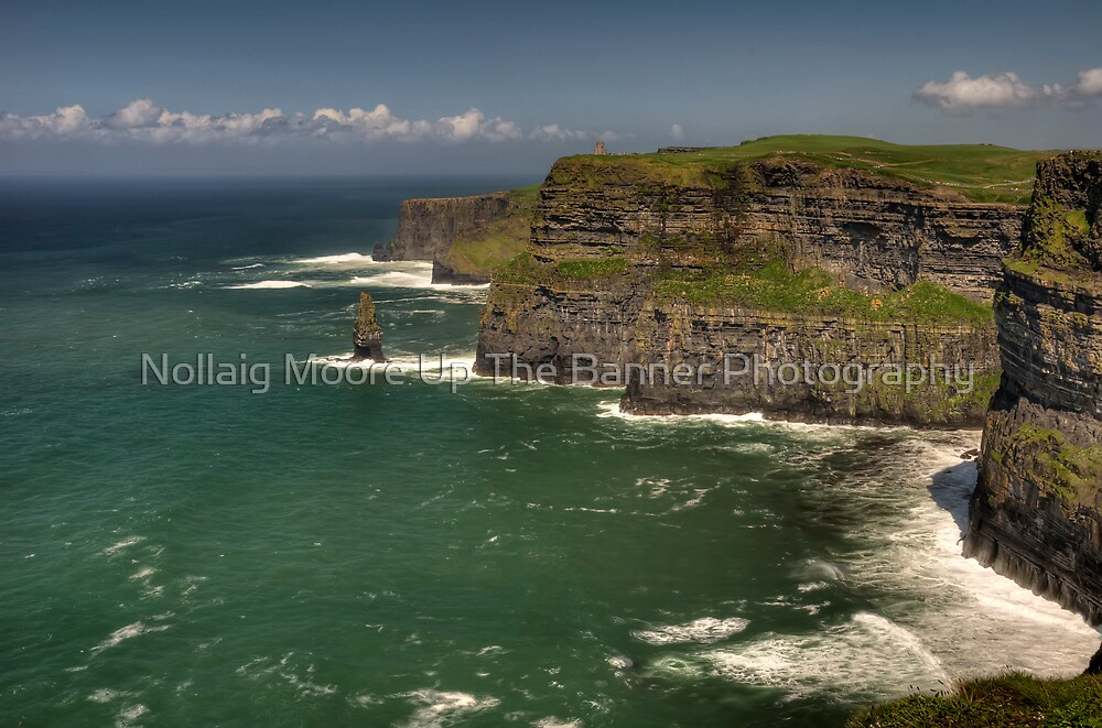 Cliffs of Moher, County Clare, Ireland by Noel Moore Up The Banner Photography