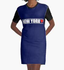 Vestido camiseta ¡Amo Nueva York!