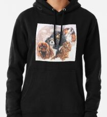 Cavalier King Charles Spaniel Grouping Pullover Hoodie