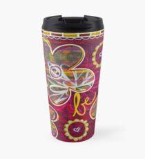 Love Live Be: Inner Power Painting Travel Mug