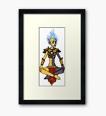 Vivec - The Elder Scrolls (MS Paint) Framed Print