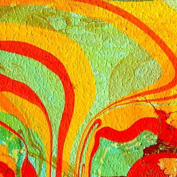 Acrylic pouring   by lamarmarina