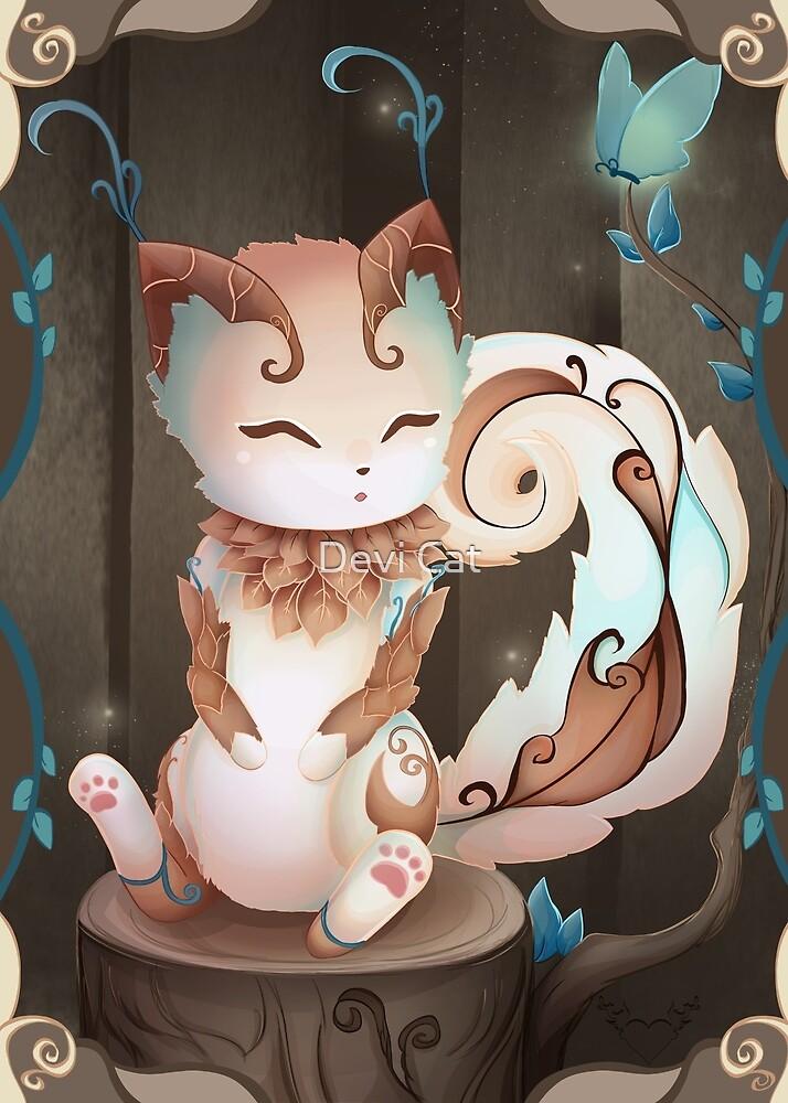 Earth Kitsune - 2018 by devicatoutlet