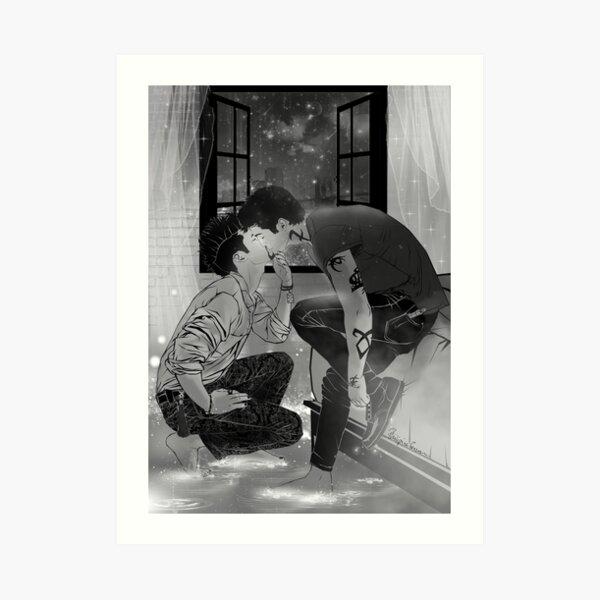 Malec kiss. Impression artistique