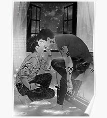 Malec kiss. Poster