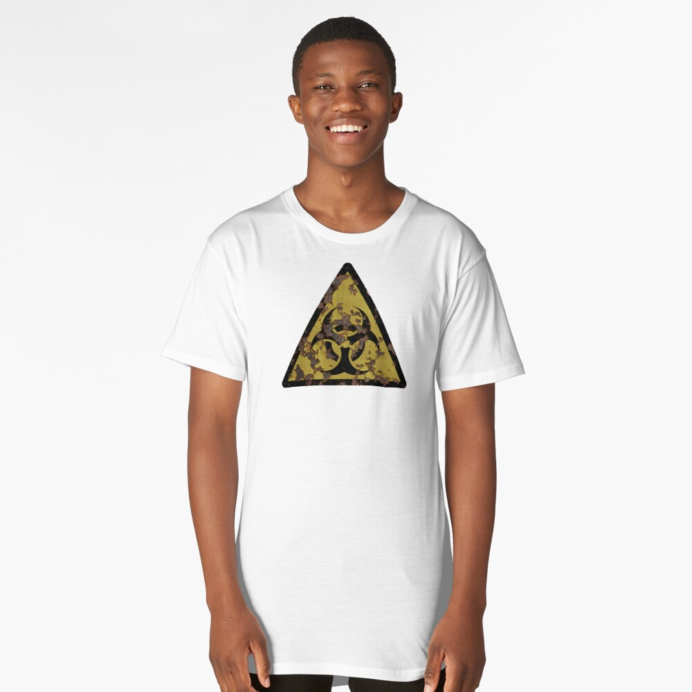 Biohazard Long T-Shirt Front