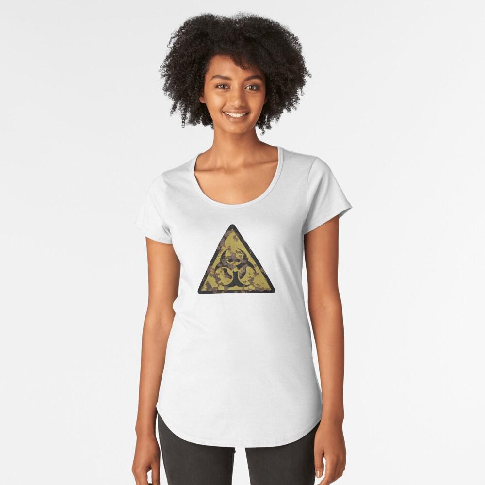 Biohazard Premium Scoop T-Shirt