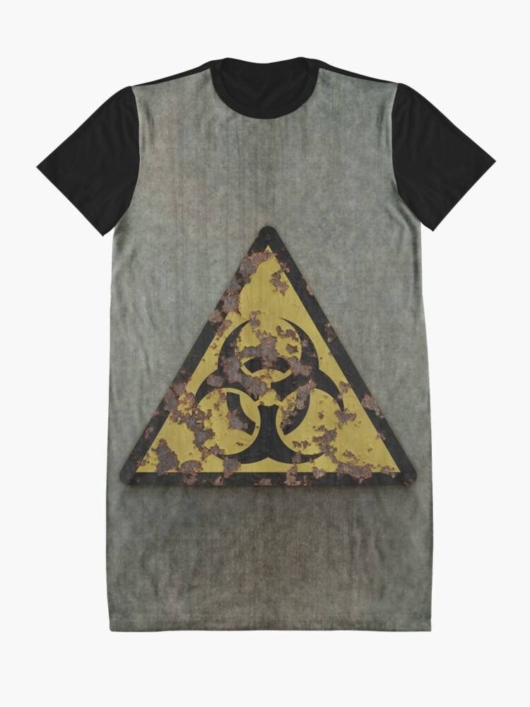 Alternate view of Biohazard Graphic T-Shirt Dress