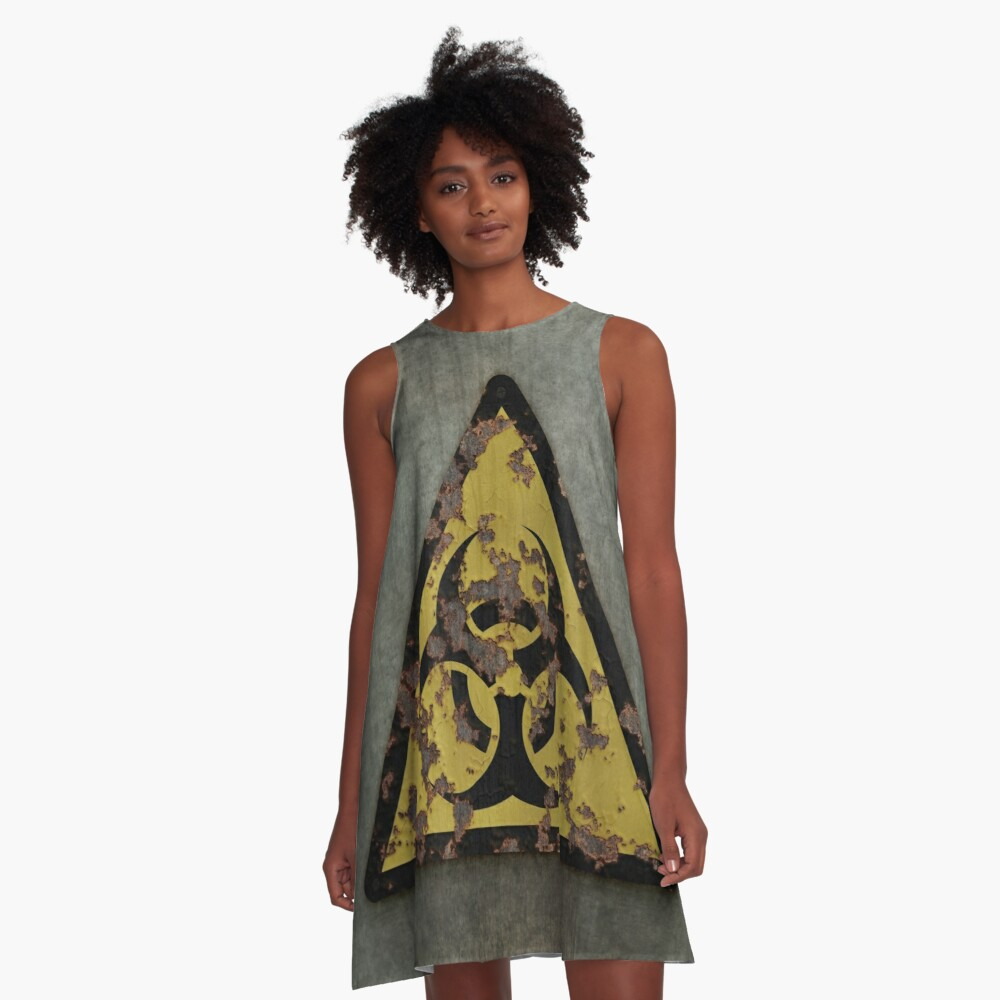 Biohazard A-Line Dress