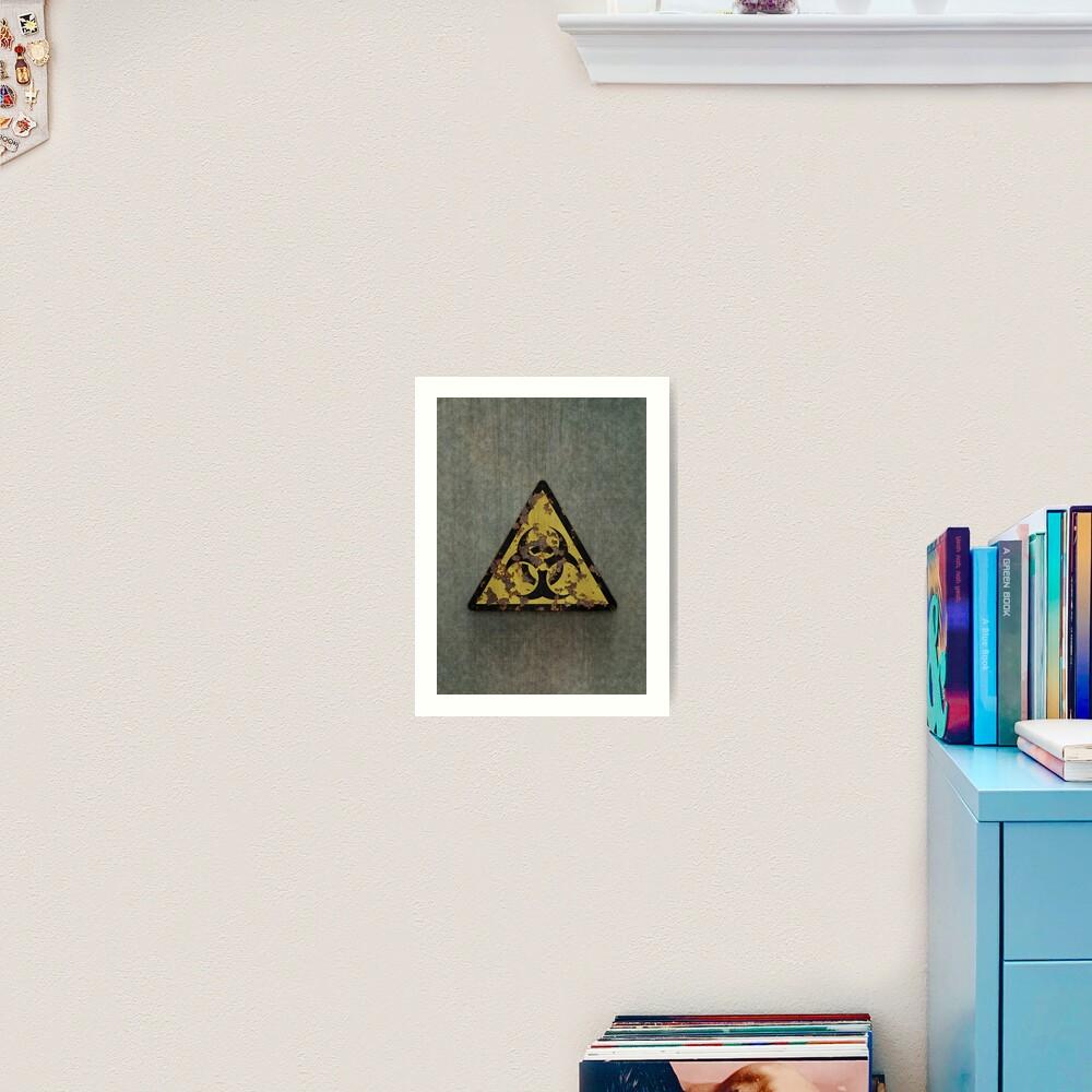 Biohazard Art Print