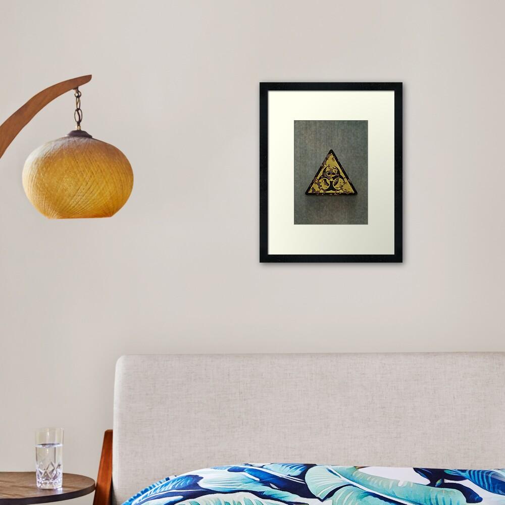 Biohazard Framed Art Print