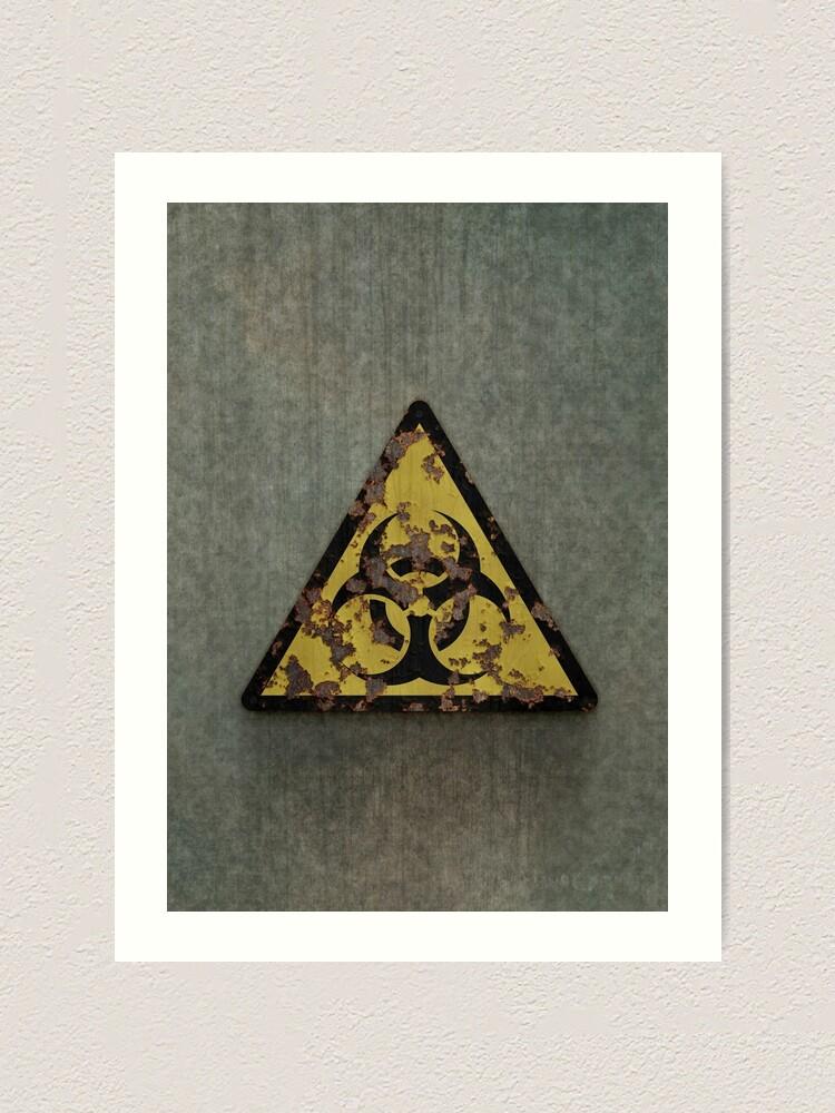 Alternate view of Biohazard Art Print