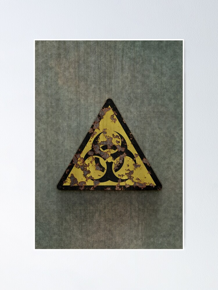 Alternate view of Biohazard Poster