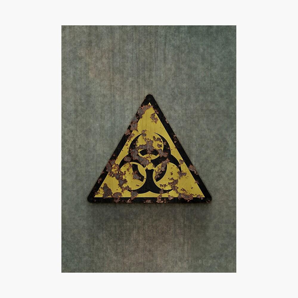 Biohazard Photographic Print