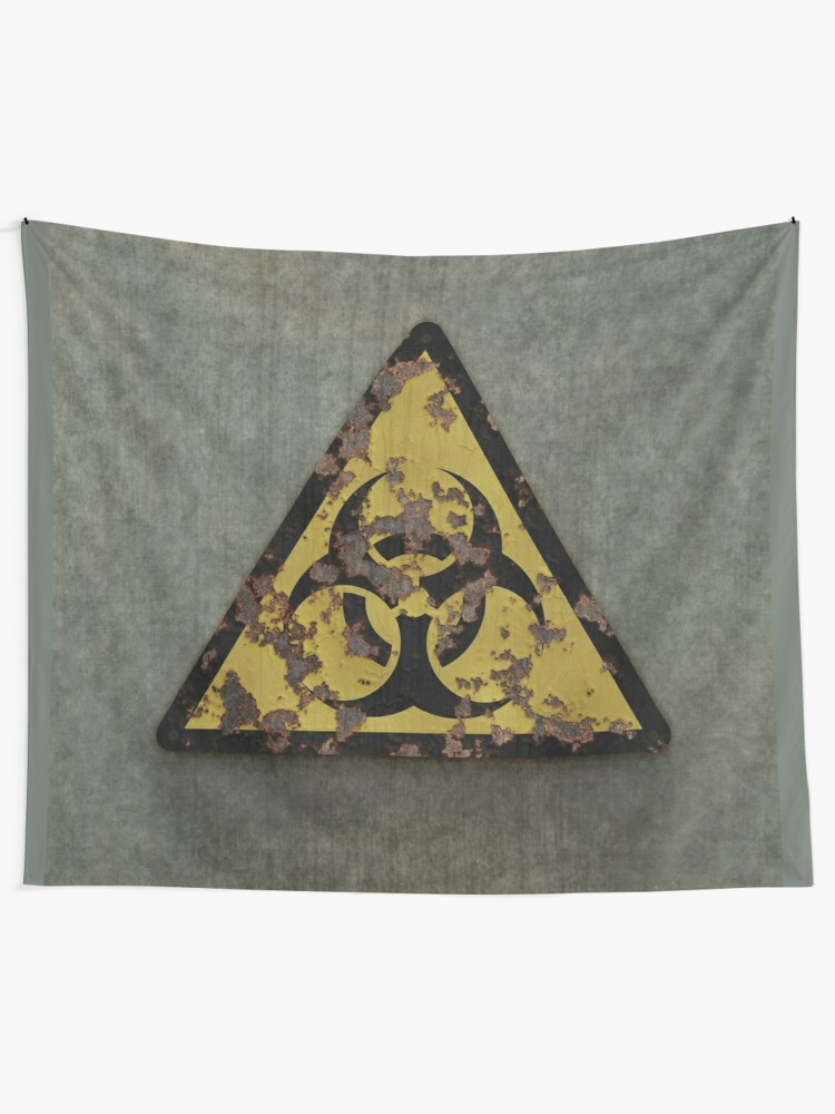 Alternate view of Biohazard Tapestry