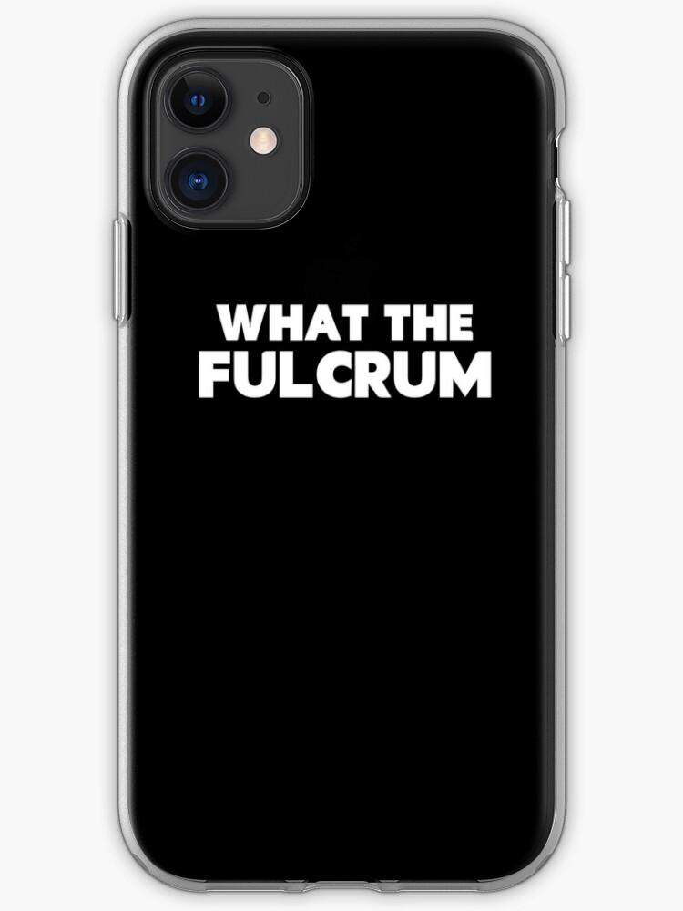 Fulcrum iphone 11 case