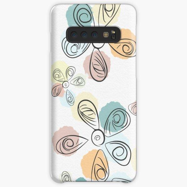 Paint Drop Flower Petals Samsung Galaxy Snap Case