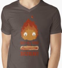 May all your BACON BURN !! Men's V-Neck T-Shirt