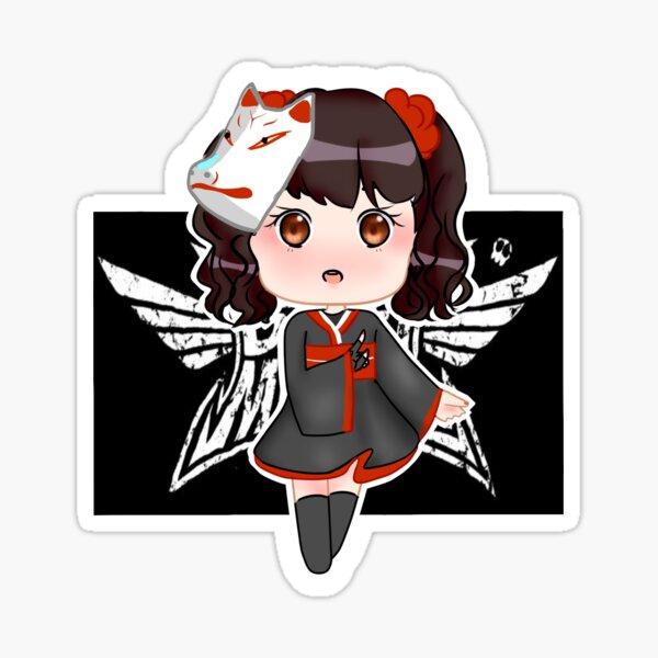 Yui Mizuno Megitsune Sticker