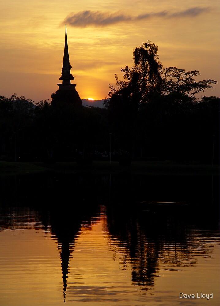 Chedi Sunset by Dave Lloyd