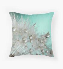 Sea green Throw Pillow