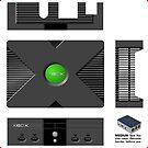 X-BOX, Raspberry Pi3 FLIRC Case **GET MEDIUM SIZE** by ChoccyHobNob