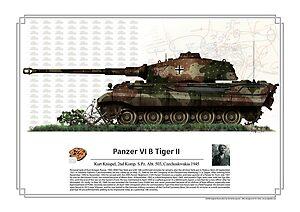 Kurt Knispel Tiger II