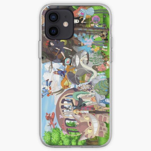 studio gibli caracter iPhone Soft Case