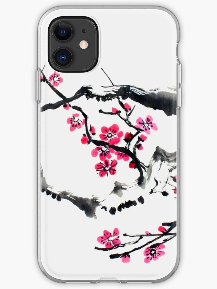 coque iphone 8 cerisier du japon