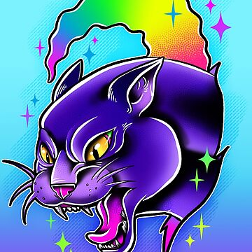 Rainbow Panther  by retkikosmos
