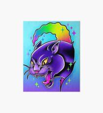 Rainbow Panther  Art Board