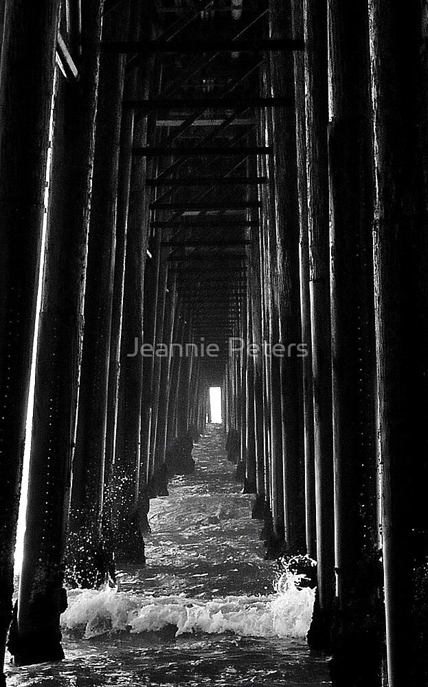 Pier by Jeannie Peters