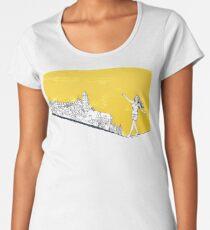 Mut wird belohnt Frauen Premium T-Shirts