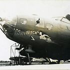 """""""Sky Witch"""", World War 2 Nose Art by Don A. Howell"""