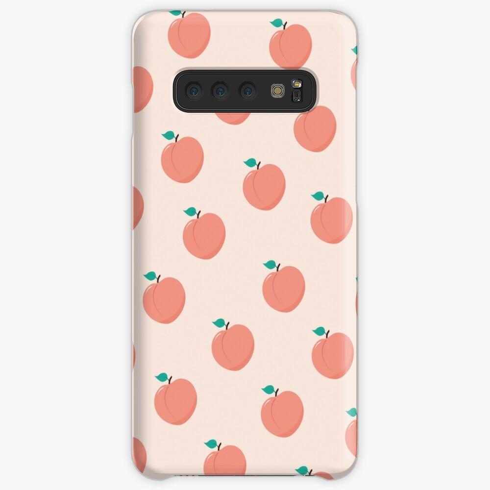 Patrón Peachy Funda y vinilo para Samsung Galaxy