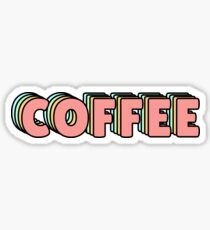 Coffee Pastel Sticker