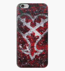 Kingdom Hearts Heartless Symbol iPhone Case