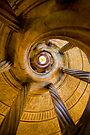 Spiral Staircase Badmerganthiem Germany by photosbyflood