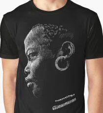 Afrikanerin Grafik T-Shirt