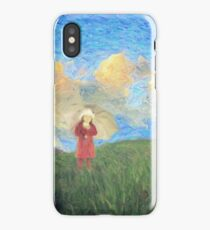 Windmill girl iPhone Case